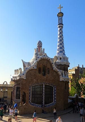 entree park guell